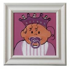 Schilderij Pink, Nicolientje