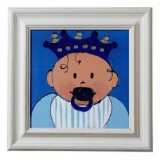Schilderij Blue, Nicolientje