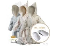 Kinderbadjas met bijpassende slofjes, Top aanbieding!